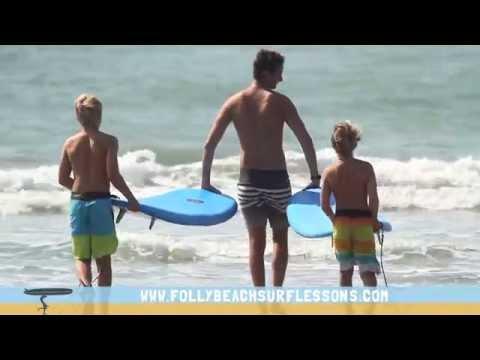Folly Beach Surf Lessons - Charleston SC
