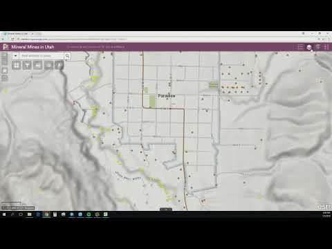 Minerals Web Mapping Tool  (Brief Overview)