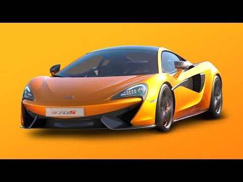 Rocket League McLaren 570S thumbnail