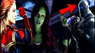 Avengers Infinity War Post Credit Captain Marvel Will APPEAR!?
