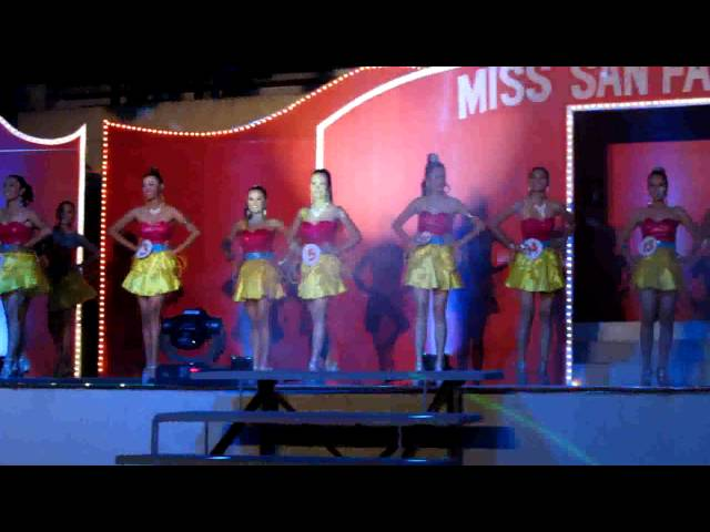 Miss San Fabian 2013 Candidates #3 Travel Video