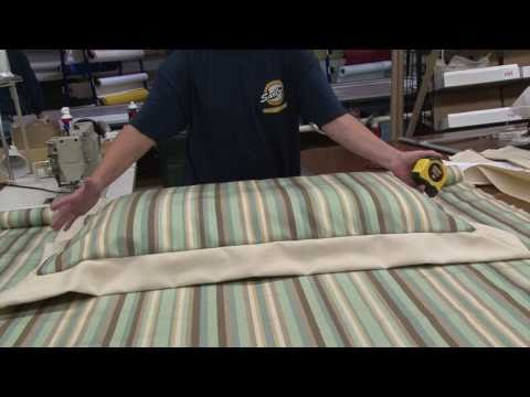 how to make a zippered pillow sham part 1 youtube. Black Bedroom Furniture Sets. Home Design Ideas