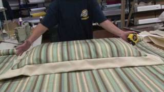 How to Make a Zippered Pillow Sham - Part 1