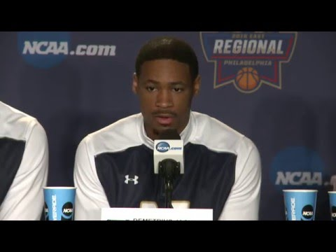 News Conference: Notre Dame Elite Eight Preview
