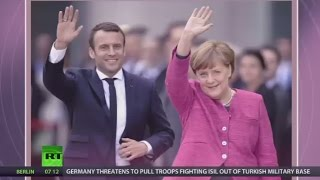 Changing EU treaty 'not taboo' for France anymore – Macron after meeting Merkel