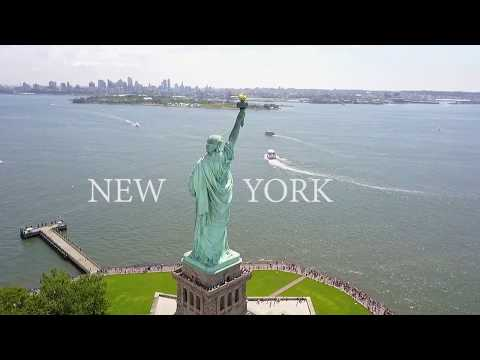GOPRO: Hello New York - Manhattan | Central Park | Rooftops | Statue of Liberty | DJI SPARK