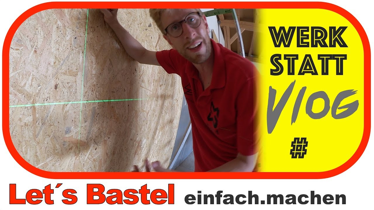 Verkleidet Man So Wande Mit Osb Lets Bastel Youtube