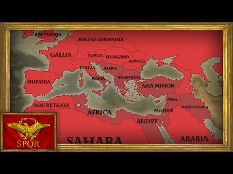 EU4 - Timelapse - Roman Empire Restoration as Byzantium