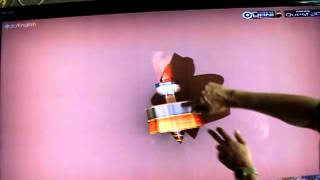 видео интерактивный сенсорный стол