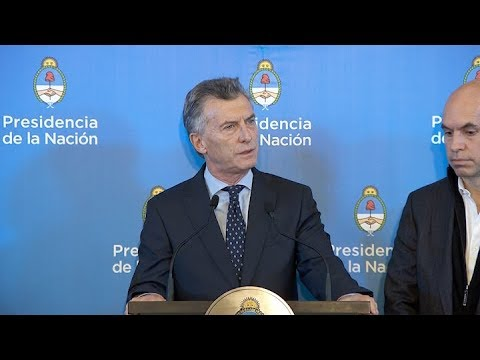 Macri: Ya no queremos un Estado socio del narcotráfico
