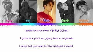 Shinee-lock You Down  Colored Coded Han|rom|eng Lyrics