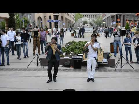 American Indian-traditional Music, North Avenue, Yerevan