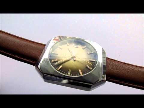 Delvina Geneve Vintage Wrist Watch