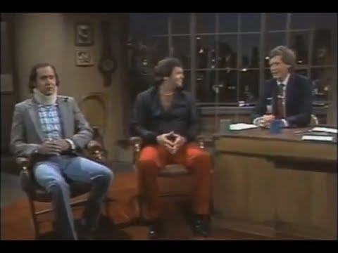 *uncensored* Andy Kaufman and Jerry Lawler on Letterman Full (1982)