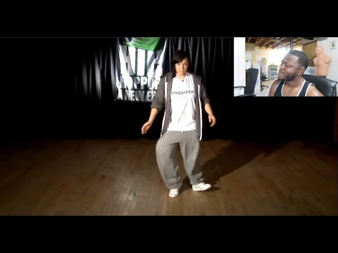 How To Crip Walk For Beginners | Reaction