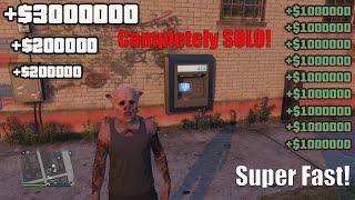 BRAND NEW Super EASY Solo GTA 5 ATM Money Glitch In GTA 5 Online! (PS4/XBOX/PC) Solo Money Glitch