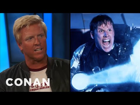 Jake Busey Remembers Visiting His Dad On The