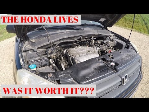 2005 Honda Pilot Test Drive After Valve Repair