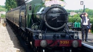 West Somerset Railway 2013 - Take a trip along the line behind a steam locomotive - Number 9351