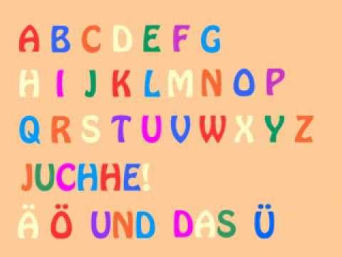 Das deutsche AlphabetLied German Alphabet Song  Learn German easily