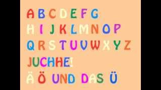 Repeat youtube video Das deutsche Alphabet-Lied (German Alphabet Song) - Learn German easily