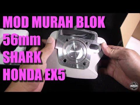 Mod MURAH! - Shark 56mm block set Honda Class 1