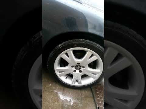 Detailing Addicts Car Care Magnatec high gloss wash protection on wheels