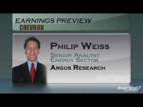 Analyst interview: Chevron Earnings Preview with Philip Weiss, Argus Research