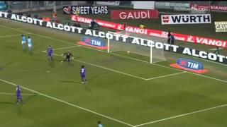 Fiorentina 0 - 3 Napoli (17.02.2012) Serie A