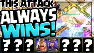 THIS Attack ALWAYS WINS! Clash of Clans Clan War Leagues - Day 5!