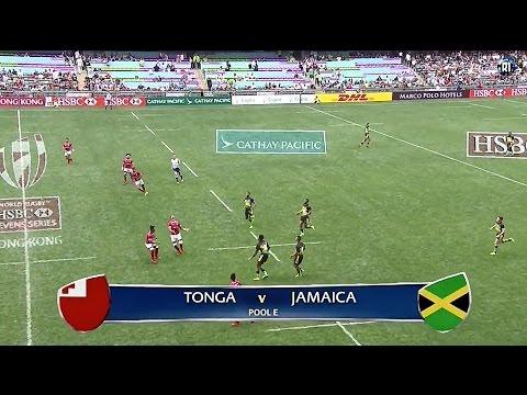[HK Sevens 2017 Highlights] Tonga vs Jamaica
