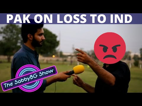 Angry Pakistani Fans After Losing to India | Pakistan vs India