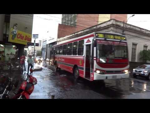 5)  Centro de la ciudad de Asunción-Paraguay 18-19/02/2014