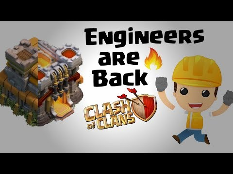 Engineer base are back in coc 2018 | Engineer Base in Clash