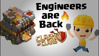 Engineer base are back in coc 2018   Engineer Base in Clash Of Clans   What is engineer base