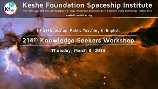 постер к видео 214th Knowledge Seekers Workshop - Mar 8 2018