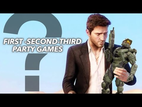 What Are First, Second, & Third Party Games?