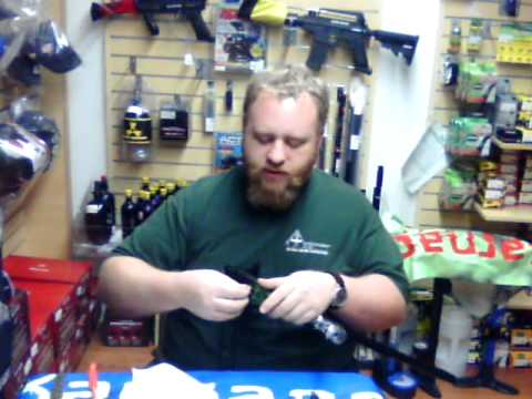How to clean Azodin/Spyder Paintball guns by Black Bear Outdoors - Part 1