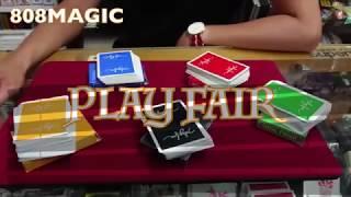 [8O8 MAGIC] 魔術道具 久違的撲克牌開箱影片 Play Fair Playing Card By kei Izumi