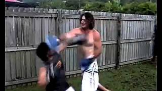 Video Backyard Boxon Fabian Doman vs Dylan Watson download MP3, 3GP, MP4, WEBM, AVI, FLV Oktober 2017