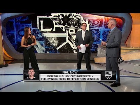 NHL Now:  Quick Injury Update:  Updating the Kings` outlock after injury to Quick  Oct 31,  2018
