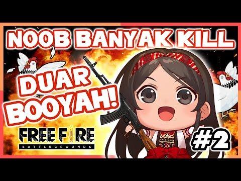 Cewe Nub Main Sampe BOOYAH! Ga Brenti Sampe BOOYAH! | Free Fire Indonesia Part 2 (Vtuber/Episode 77)
