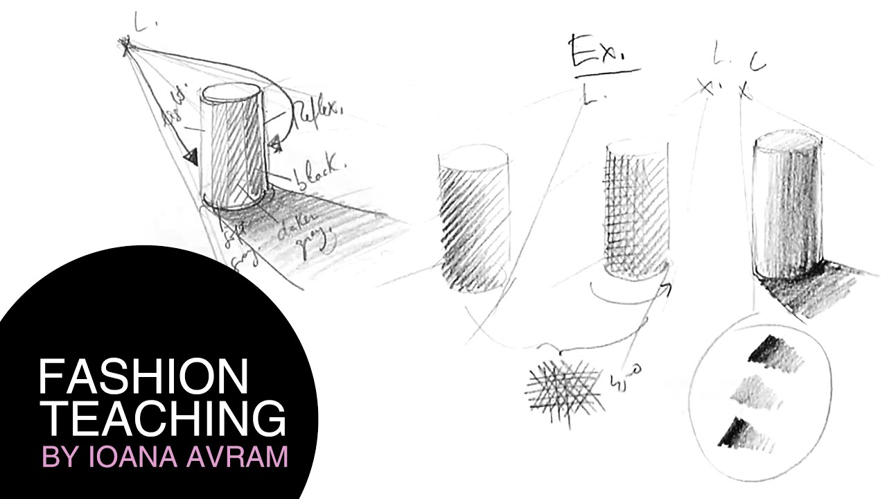 how to draw pencil shading