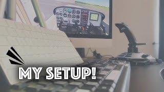 My Infinite Flight Setup - Joystick + Keyboard!