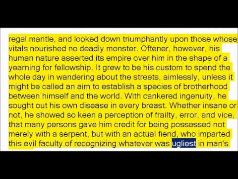 Egotism; or, The Bosom Serpent by Nathaniel Hawthorne (Book Reading, British English Female Voice)