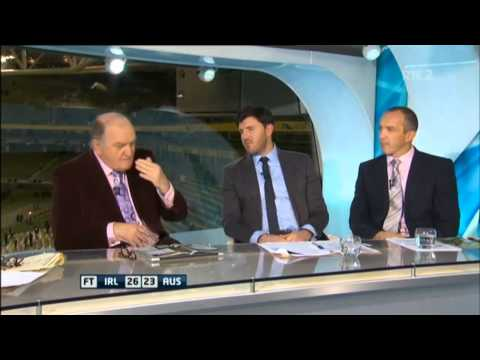 Irish analyst George Hook explains the greatness of Rugby Union (22/11/2014)