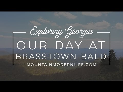 Exploring North Georgia: A Day at Brasstown Bald