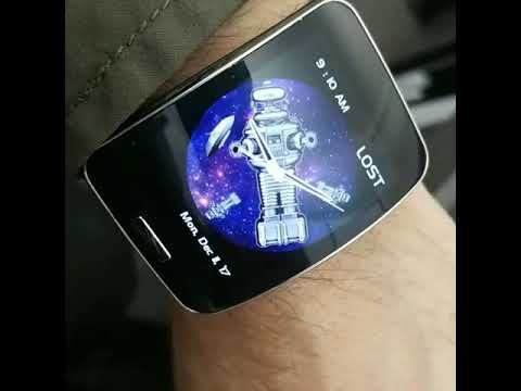 Lost in Space Robot and Ships watchface for Samsung Gear S