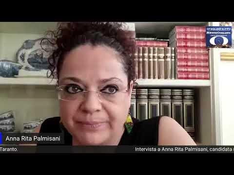 Intervista ad Anna Rita Palmisani, candidata, non eletta,  alle Elezioni regionali nella lista PD