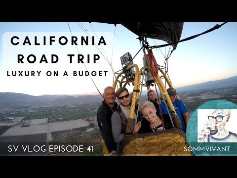 HOW TO ROAD TRIP CALIFORNIA - the LUXURIOUS, INTERESTING & ECONOMICAL WAY  - SV VLOG, Ep.41
